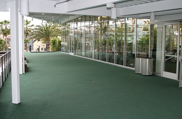 Google Campus Rubber Flooring