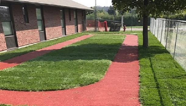 Walking Track at Health Center