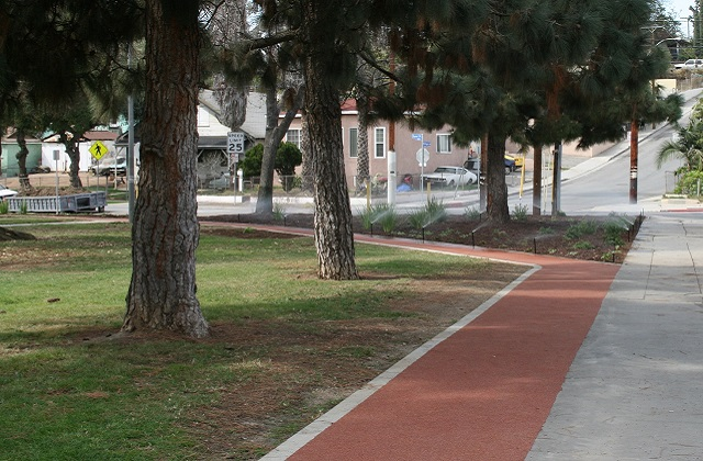 Obregon Park Rubber Jogging Trail
