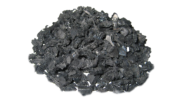 Black Recycled Rubber Bits