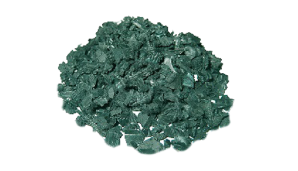 Green Recycled Rubber Bits