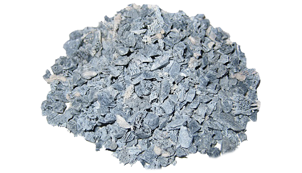 Light Gray Recycled Rubber Bits