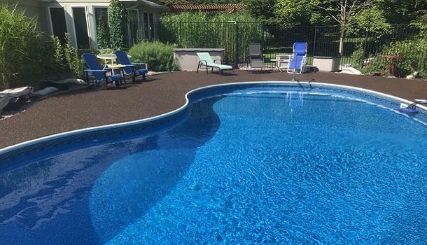 Rubberway Rubber Pool Deck