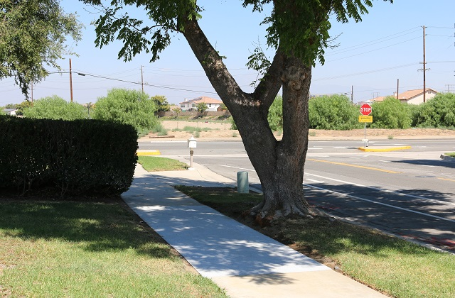 City Of Corona Installs Rubberway Sidewalk Test Site