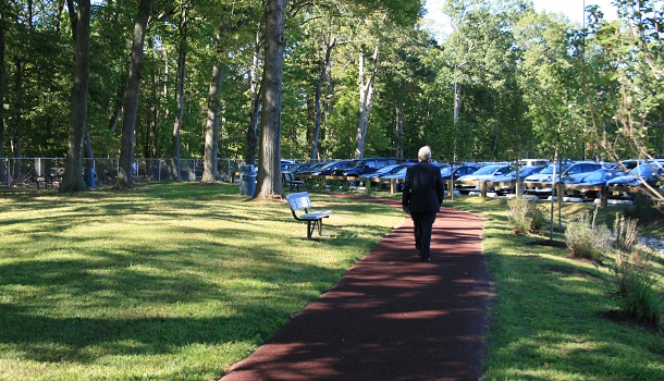 Rubberway Rubber Trail at Bed Bath & Beyond Corporate Campus for health and wellness