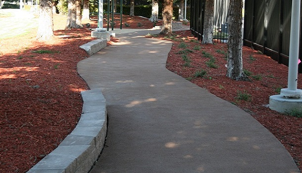 Rubber Trail at the Texas Instruments Corporate Campus