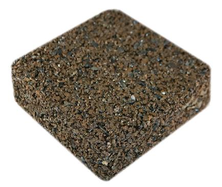 Rubberway rubberrock golden brown