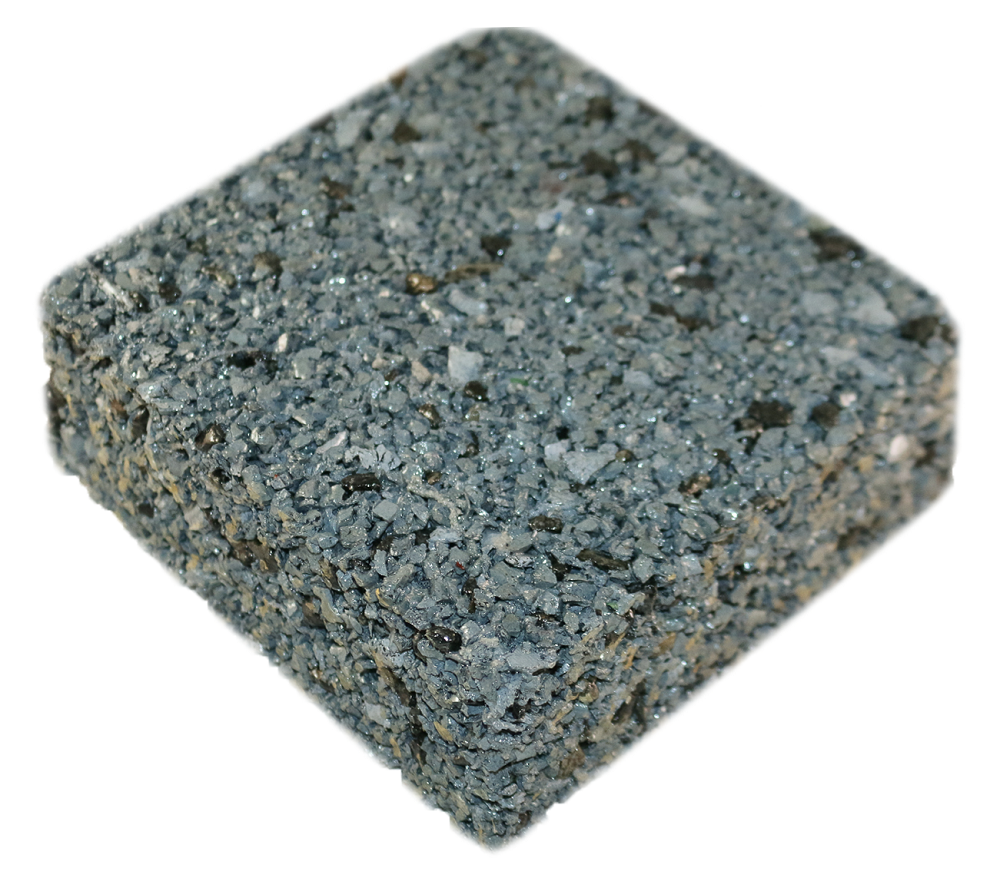 Rubberway rubberrock grey ab