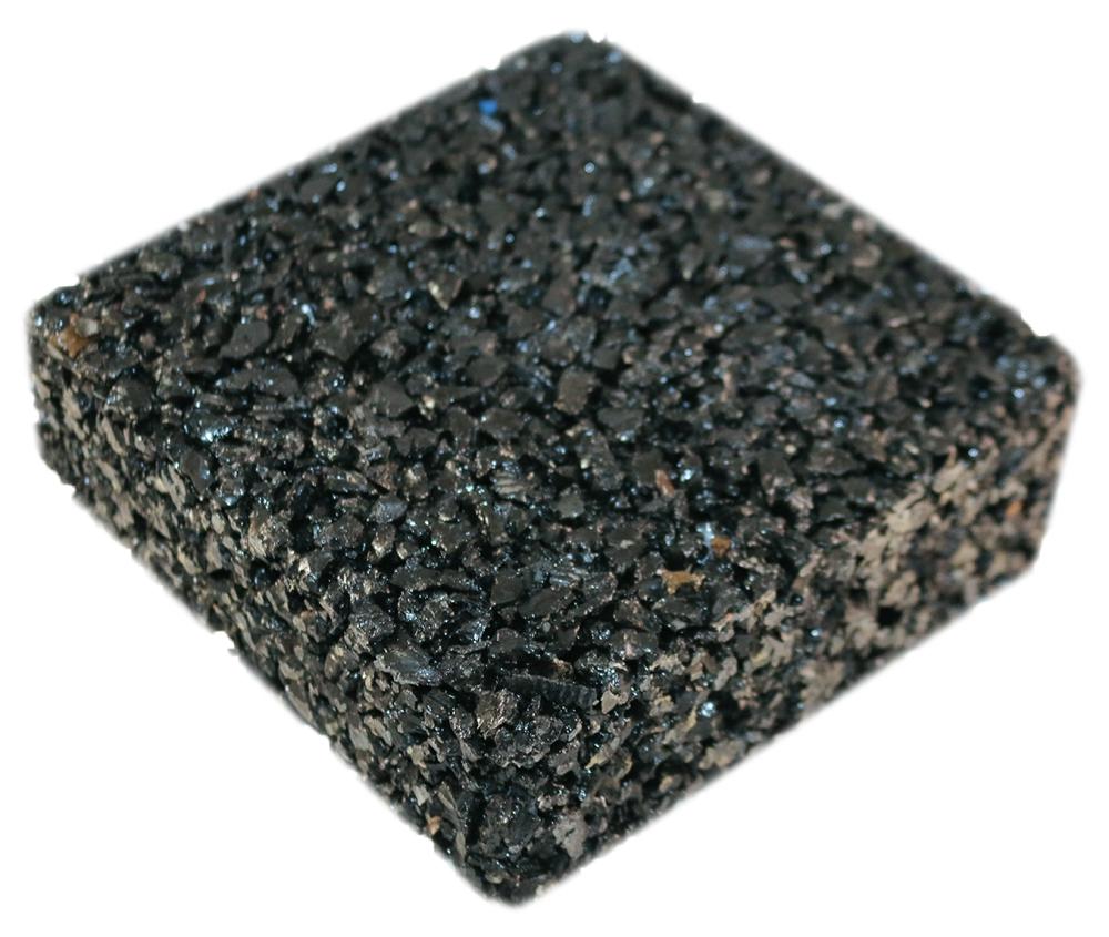 Rubberway pervious pavement black
