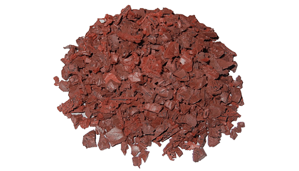 Rubberway Recycled Rubber Bits Red