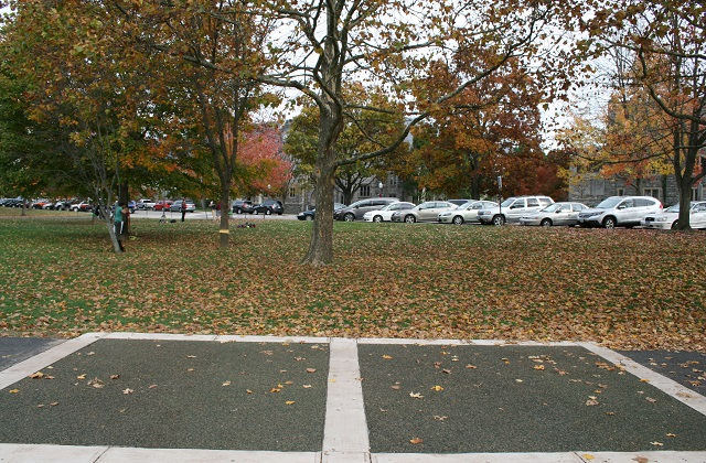 Virginia Tech University Porous Rubber Pavement